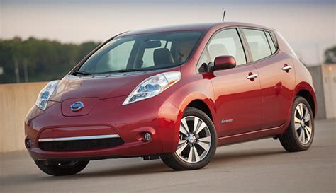 nissan cars names cars com names the nissan leaf as eco friendly car of the