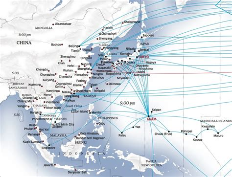 united route map united airlines launches los angeles shanghai service world airline news
