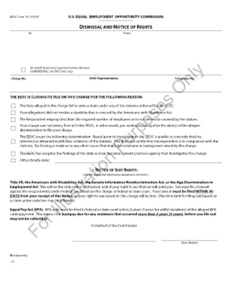 Eeoc Search Eeoc Form 161 Fill Printable Fillable Blank Pdffiller
