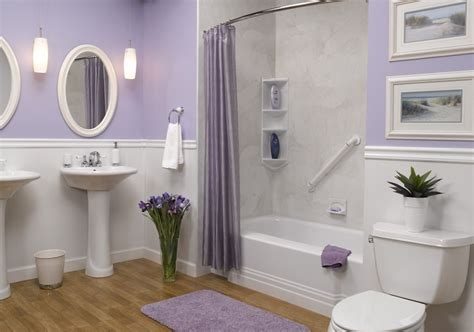 Lilac And Grey Bathroom » Home Design 2017