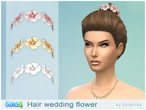 sims 3 wedding hair wedding hair flowers at sims by severinka 187 sims 4 updates