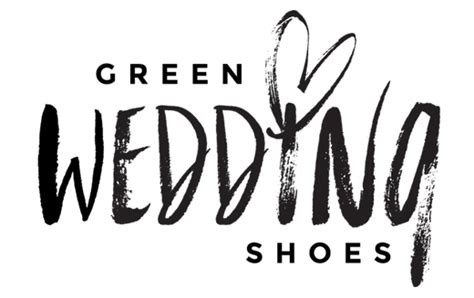 Wedding Reception Logo by Home Green Wedding Shoes