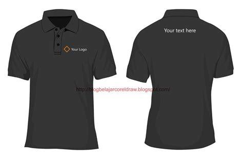 gambar  desain kaos polo shirt format vector
