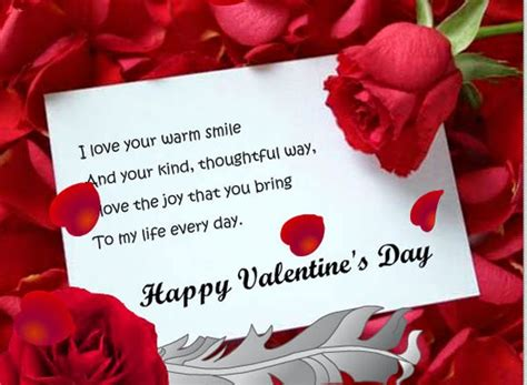 valentines card messages touching valentines day messages for you