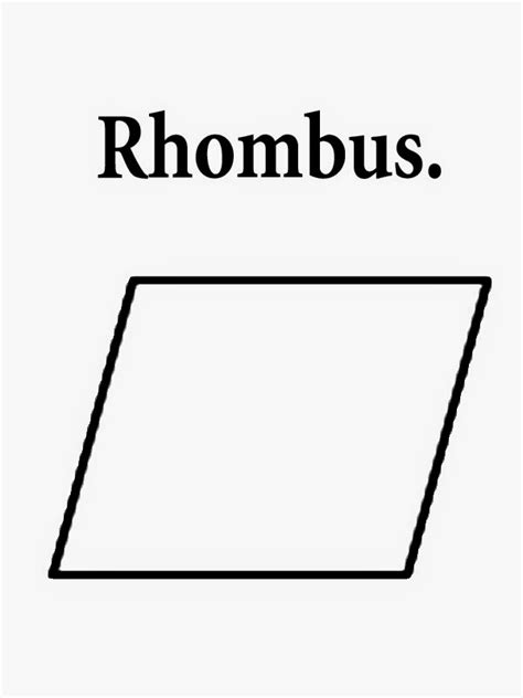 printable shapes rhombus free coloring pages printable pictures to color kids