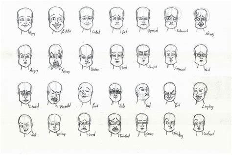 faces how to draw heads features expressions academy expressions s 246 k p 229