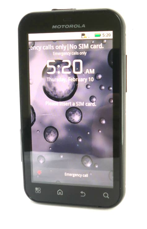 unlocked android phones unlocked motorola defy android smartphone property room