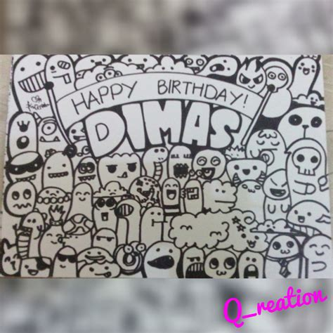 Doodle Project Happy Birthday Dimas Kikyrose