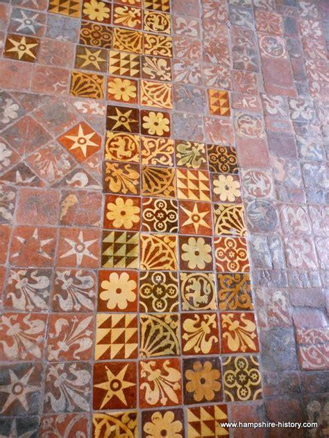 Medieval Floor Tiles in Hampshire