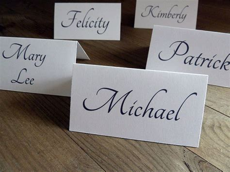 DIY Wedding Place Card Ideas   B&G Blog