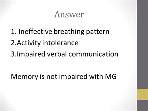 ineffective breathing pattern as evidenced by chronic neurological diseases ppt video online download