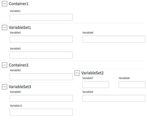 yii2 set layout variable service catalog forms in service portal