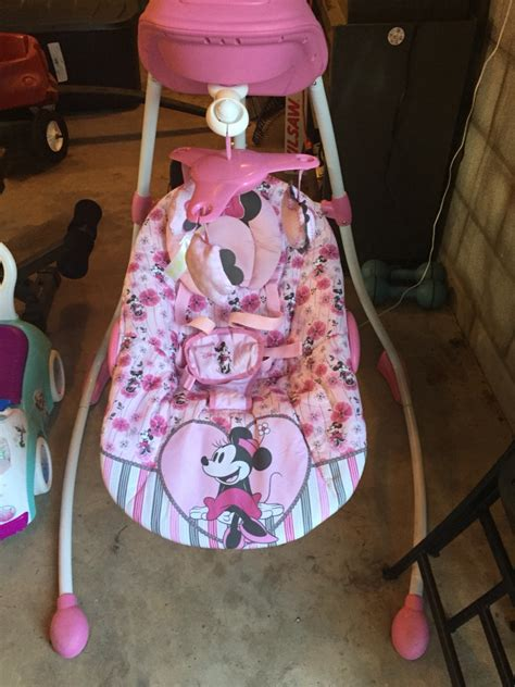 minnie mouse swing letgo minnie mouse swing in portage in