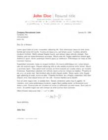 Cover Letter Tex by Cover Letters Sharelatex Editor