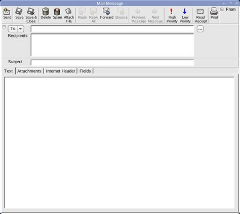 i scribe and inscribe a small and easy to use email client