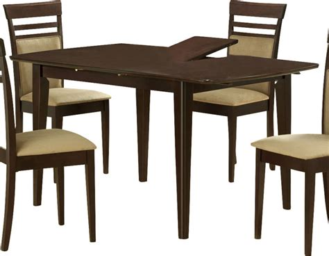 Butterfly Kitchen Table And Chairs Monarch Specialties 48 X 36 Dining Table With 12 Inch Butterfly Leaf Transitional Dining Tables