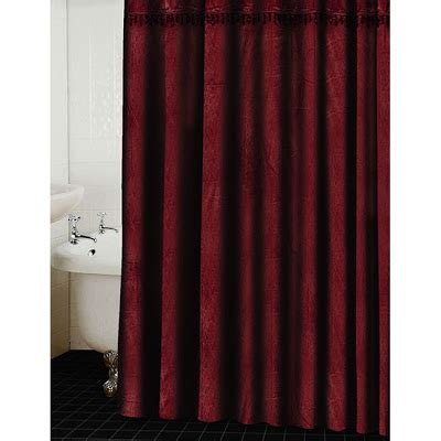 Shower Curtains Red Simple Home Decoration