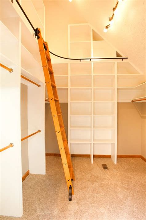 Closet Ladders by Walk In Closet Designs Like The Ladder For The Home