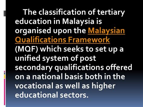 Mba Distance Education In Malaysia by Educational System Malaysia