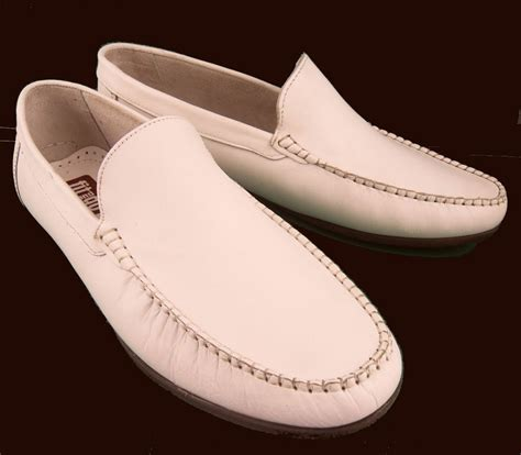 mens white leather loafers moccasin shoes sizes 6 12 ebay