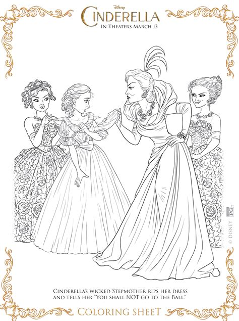 cinderella movie coloring pages cinderella coloring pages and activity sheets almost