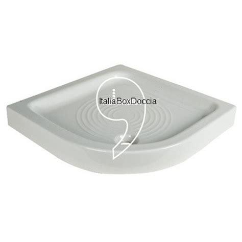 piatti doccia 75x75 piatto doccia 75x75 cm ad angolo curvo in porcellana
