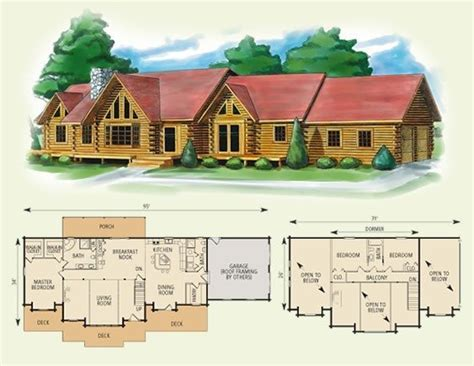 4 bedroom log cabin floor plans new home plans