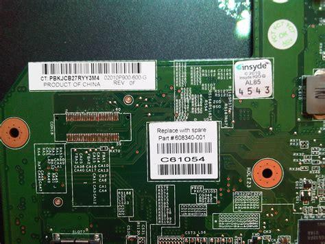 reset bios g62 hp g62 a40ew potrzebny wsad pamięci bios elektroda pl