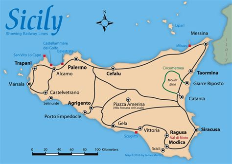 sicily on map sicily map travel guide sicily city and