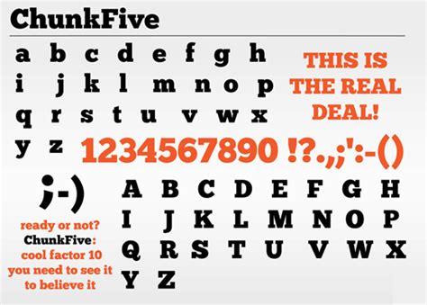 juliusdesign font font inspirations chunkfive juliusdesign