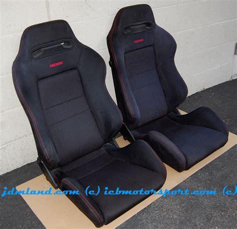 used recaro seats used honda dc2 integra type r black recaro seats condition