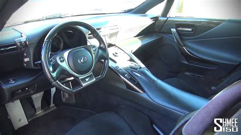 Lexus Lfa Interior by Inside The Lexus Lfa Interior Tour