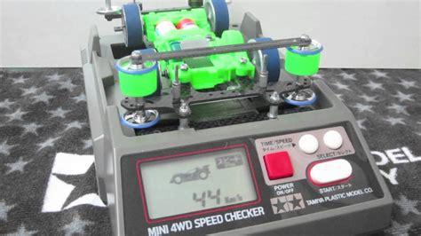 Power Dash Motor tamiya 1 32 mini 4wd reference for speed checker w power dash motor using akaline battery