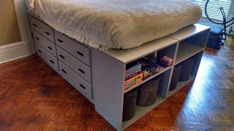 Platform Dresser Bed by How To Build A Dresser Platform Bed From Scratch Diy