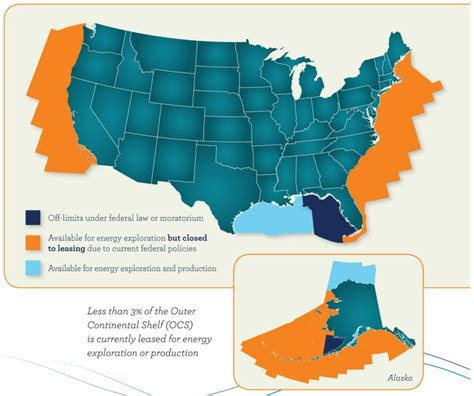 Outer Continental Shelf by Usa Tops In Production U S Chamber Of Commerce