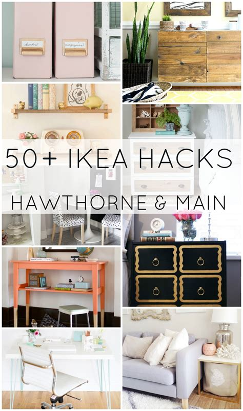 ikea hacks pinterest 50 ikea hacks