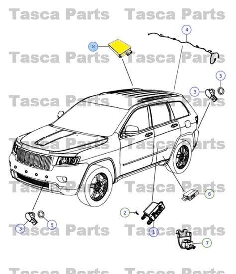 automotive repair manual 2011 dodge journey parking system brand new oem mopar blind spot detection sensor dodge chrysler jeep 56038942aa ebay