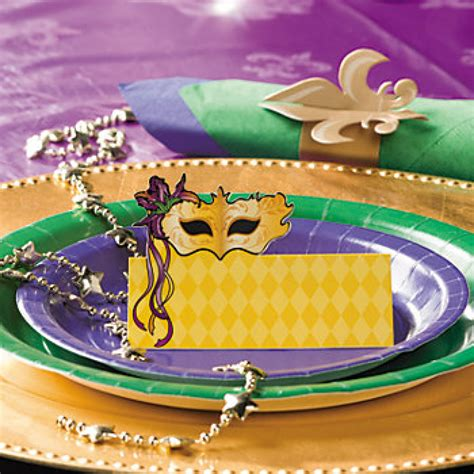 mardi gras table place card free template gold mardi gras mask placecard 24 3 7712