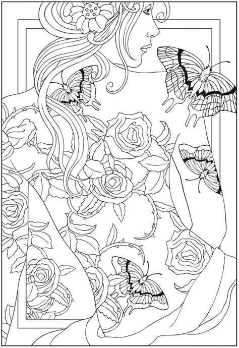 1000 Images About Color On Pinterest Dover Dover Publications Free Coloring Pages