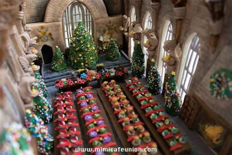 wizard school inspired confections hogwarts dining hall  mimicafe union