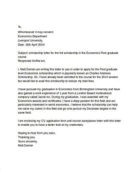 bursary application letter south africa scholarship application letter applying for education