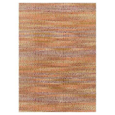 Sola Modern Orange Patterned Pink Rug 5x7 6 Kathy Kuo Home Modern Orange Rug