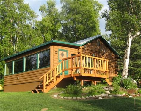 Wasilla Cabins by Lakefront Log Cabin Spectacular Views Homeaway