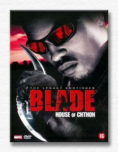 Blade House Of Chthon by Dracula Vires Werewolves