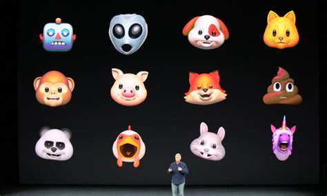 iphone x emoji apple announces animoji animated 3d version of emoji for iphone x