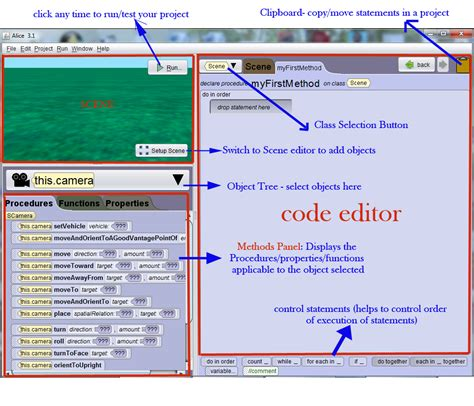 tutorial xp 3 2 1 alice tutorials computer programming in 3d alice 3 1