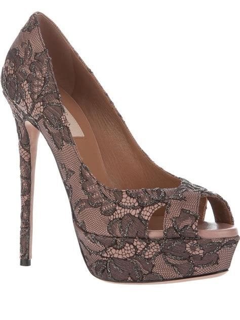 lace pumps shop for lace pumps on polyvore lace pumps by valentino shoes pinterest