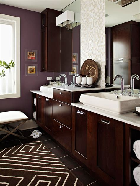plum bathroom decor stylish bathroom color schemes scott emma