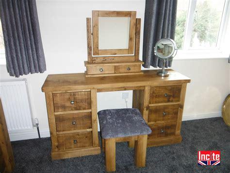 handmade bedroom furniture uk bespoke derbyshire handcrafted plank pine dressing table