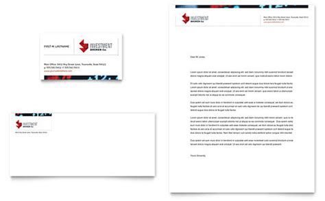 Bank Letterhead Template Banking Letterhead Templates Financial Services